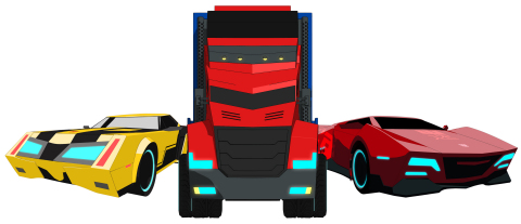 Hasbro announces a new licensing agreement with Dickie Toys, a Simba Dickie Group company, to develop a line of TRANSFORMERS branded vehicles and playsets that will debut in 2016. The range is slated to include RC cars, die cast vehicles, vehicles with lights and sounds, and themed playsets. (Graphic: Business Wire)