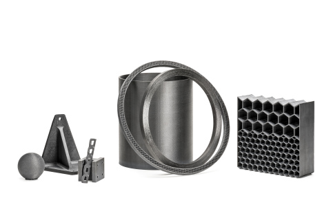 Examples of -- for the first time -- 3D printed PEEK and PAEK composite parts developed for the Aero ...