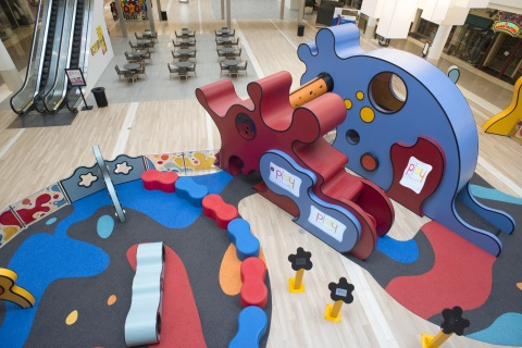 First-of-its-kind in the Chicago area - PLAY children's experience combines technology, sensory learning and active play for children of all ages at Yorktown Center. (Photo: Business Wire)