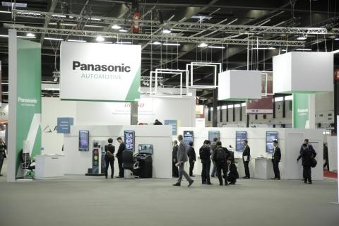 松下在2015年智慧型運輸系統大會的展覽攤位(照片:美國商業資訊)