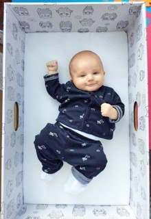 The Baby Box Co. provides a safe sleeping solution for newborns up to 8 months based on a 75 year ol ...