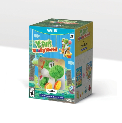 Untangle the fun in Yoshi's Woolly World for Wii U. (Photo: Business Wire)