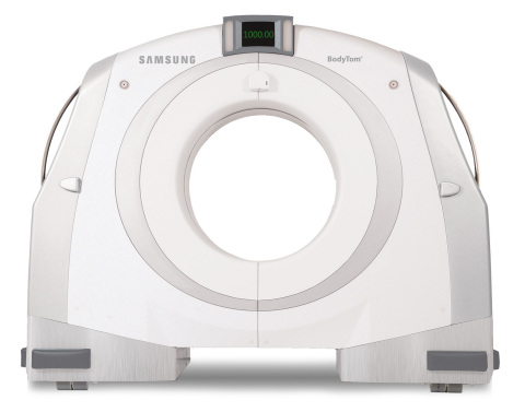 As the world's first portable, full body, 32-slice CT (computed tomography) scanner, BodyTom® is a multi-departmental imaging solution capable of transforming any room in the hospital into an advanced imaging suite. (Photo: Business Wire)
