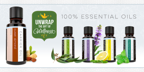 Mannatech 100% Essential Oils (Graphic: Business Wire)