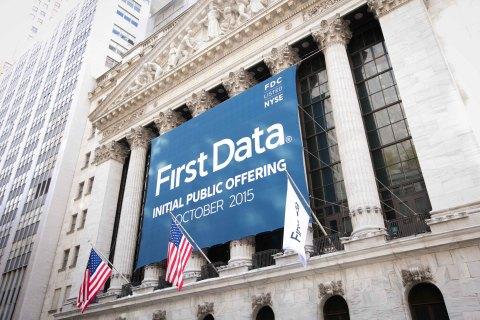 First Data celebrates IPO on the NYSE. (Photo: NYSE)