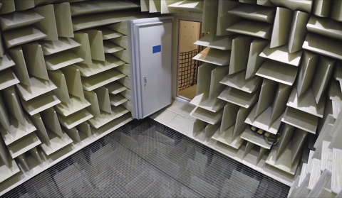 Microsoft Sets Guinness World Record for Quietest Place on Earth with Eckel Anechoic Chamber (Photo: Business Wire)