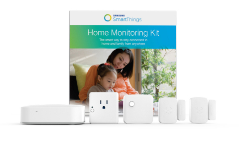Samsung SmartThings Home Monitoring Kit (Photo: Business Wire)