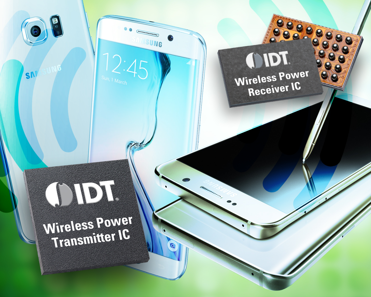 Idt Wireless Power Transmitter Wire Center 1998 Gmc Jimmy 42154 Fuse Box Diagram Teams With Samsung To Integrate Charging Business Rh Businesswire Com Diy