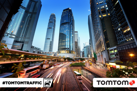 TomTom has launched its world-class Traffic service in Hong Kong. (Photo: Business Wire)
