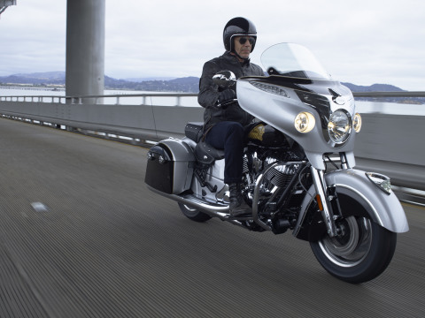 Indian Roadmaster (Photo: Business Wire)