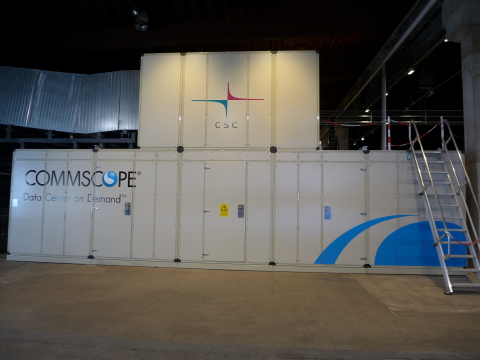 CommScope's Data Center on Demand at CSC (Photo: Business Wire)