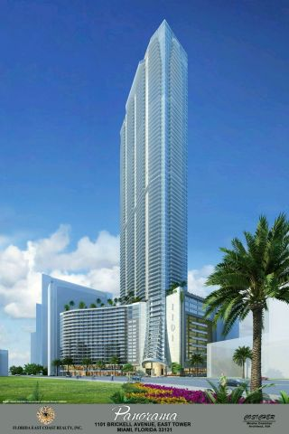 Panorama Tower in Downtown Miami Launches EB5 Private Placement Offering to Qualified Foreign Investors. (Photo: Business Wire)