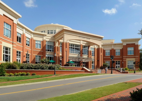 UNC Charlotte, whose student union is shown here, is using Aruba's Wave 2 Gigabit Wi-Fi to deliver mobile-first learning to its 31,000 students and staff. (Photo:Business Wire)