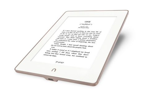 NOOK GlowLight Plus™ is Beautifully Designed, Lightweight and Ready for Reading in Low Light or Bright Sun (Photo: Business Wire)