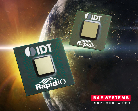 BAE Systems and IDT Develop New Space-Grade Chip to Speed and Increase Data Movement in Space (Graphic: Business Wire)