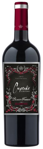 The Cupcake Vineyards 2013 Black Forest is made from a blend of grapes sourced from coastal California vineyards. The wine has ripe tannins with notes of blackberry and cherry and hints of mocha and spice. (Photo: Business Wire)