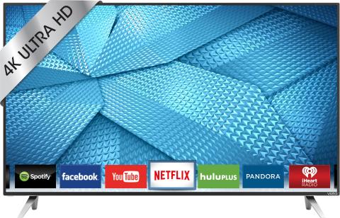 VIZIO - M-Series - 43 Class - LED - 2160p - Smart - 4K Ultra HD TV (Photo: Best Buy)