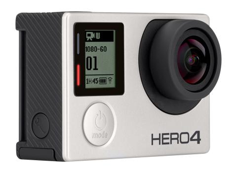 GoPro - HERO4 Silver Action Camera (Photo: Best Buy)