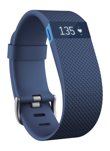 Fitbit - Charge HR Heart Rate and Activity Tracker (Photo: Best Buy)
