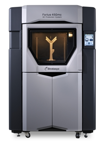 The Fortus 450mc 3D Printer from Stratasys will be featured in the Factory of the Future vision at Oracle OpenWorld. (Photo: Stratasys)