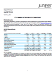 Juniper Networks CFO Commentary on Third Quarter 2015 Financial Results