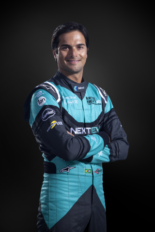 The first Formula E champion, Nelson Piquet Jr, Brazilian driver from NEXTEV TCR (Photo: Business Wi ...