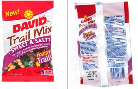 DAVID Trail Mix Sweet & Salty (Photo: Business Wire)