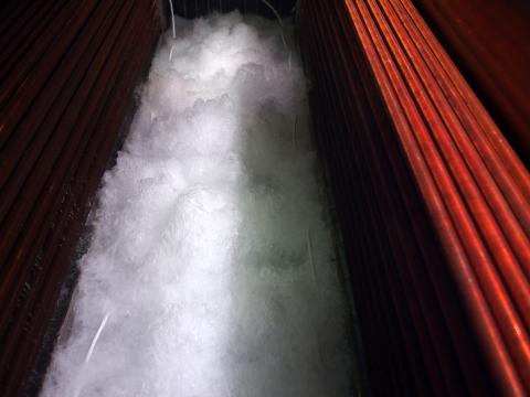 BitFury's immersion cooling system using 3M™ Novec™ Engineered Fluid (Photo: BitFury)
