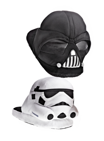 Shop Macy's stores and macys.com for everyone on your list this holiday season; Star Wars Slippers, $46 each (Photo: Business Wire)