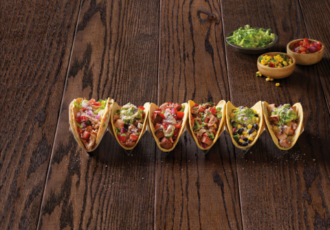 Qdoba® Introduces New Bold-Flavored Knockout Tacos™ (Photo: Business Wire)