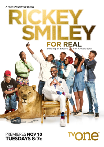 "TV One's new docu-series ""Rickey Smiley For Real"" premieres on Tuesday, Nov. 10 at 8 p.m. ET. (Graphic: Business Wire)"