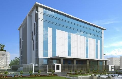 NTT Communications Mumbai 5 data center. (Graphic: Business Wire)