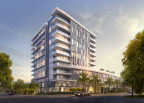Four Seasons Private Residences Los Angeles rendering at Third Street and Wetherly. (Photo: Business Wire)