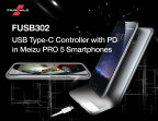 The new Meizu PRO 5 smartphone uses Fairchild's FUSB302 USB Type-C controller