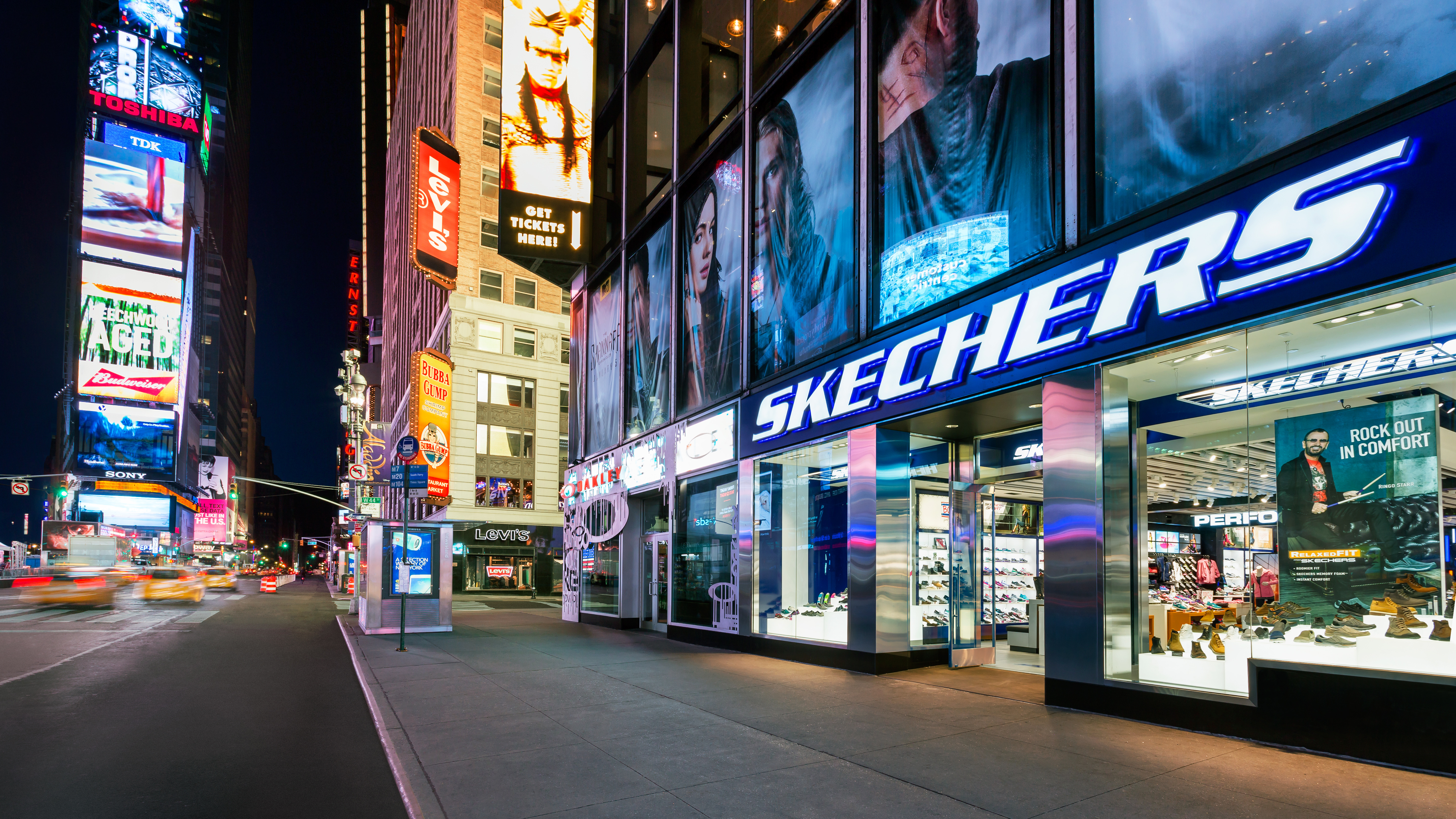 Retail Store in Times Square
