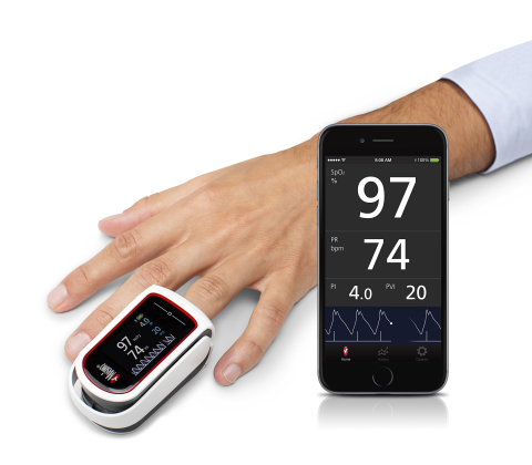 Masimo Announces FDA 510(k) Clearance for MightySat™ Rx Fingertip Pulse Oximeter (Photo: Business Wire)