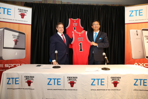 ZTE Becomes the Official Smartphone of the Chicago Bulls (Photo: Business Wire)