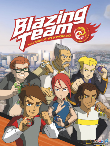 Hasbro, Inc. and Guangdong Alpha Animation & Culture Co. to Bring 'BLAZING TEAM' Brand Across Multiple Platforms in New Markets. (Graphic: Business Wire)