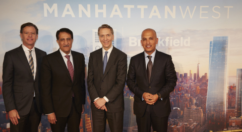Brookfield and Qatar Investment Authority Form Joint Venture on $8.6 Billion Manhattan West Developm ...