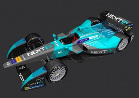 ヘンケルは光栄にも独占的パートナーとしてシーズン全体にわたりNEXTEV TCRに接着剤製品・技術サポートを継続して提供(画像:ビジネスワイヤ)