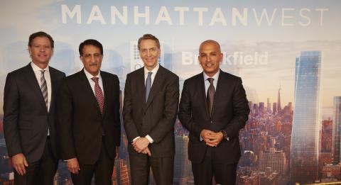 Brookfield and Qatar Investment Authority Form Joint Venture on $8.6 Billion Manhattan West Development (Foto: Business Wire)