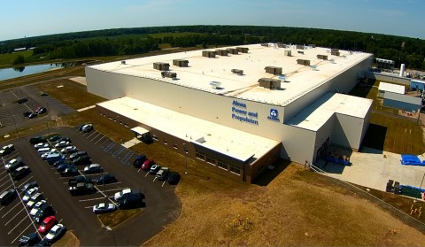 Alcoa today officially opened its cutting-edge jet engine parts expansion in La Porte, Indiana. (Pho ...