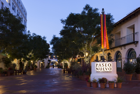 New ownership and renovations planned for Paseo Nuevo specialty Shops and Restaurants in Santa Barbara. (Photo: Business Wire)