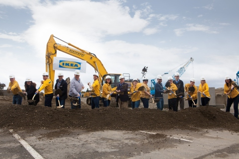 Ikea breaks ground at site of future renton relocation for Ikea renton washington