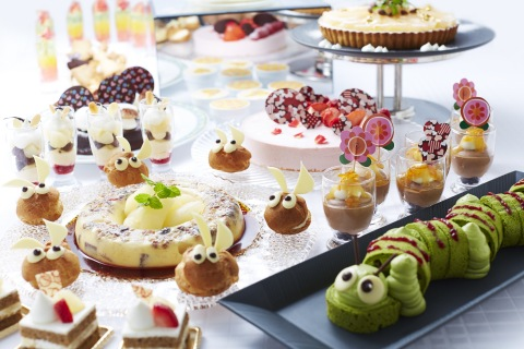 """In celebration of the 150th anniversary of Lewis Carroll's First publication of """"Alice's Adventures in Wonderland,"""" a total of 30 menu items will be served as part of the sweets buffet at All Day Dining Jurin. (Photo: Business Wire)"""