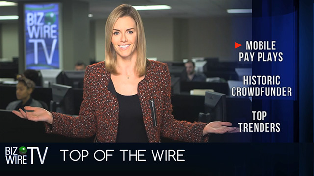 BizWireTV featuring stories on disruptive startups, hot business trends and companies to watch.  Stories this week include Apple Pay, Chase, Glowforge, MasterCard and Six Flags Magic Mountain