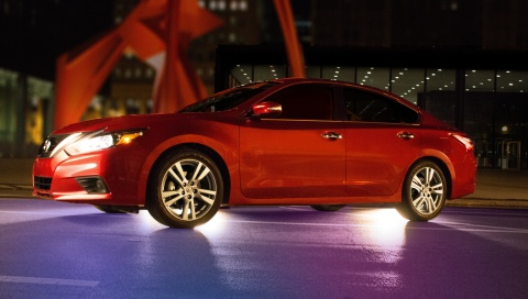 Nissan invites fans to keep their eyes on the Altima (Photo: Business Wire)