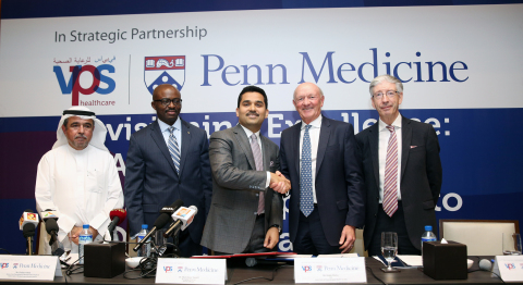 Penn Medicine & VPS Healthcare Group Photo (Photo: ME NewsWire)