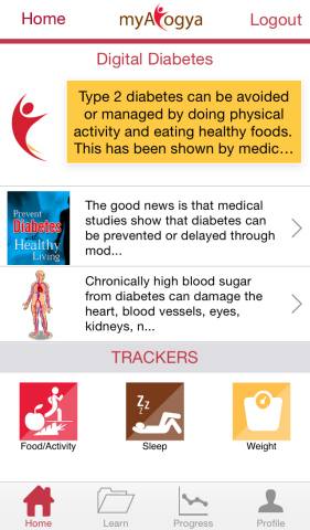 myArogya: Designed to help working Indians lead healthy lives (Graphic: Business Wire)