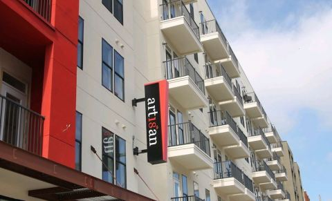 Artisan on 18th, a 153-unit apartment community located in Nashville, Tennessee near Music Row. (Photo: Business Wire)